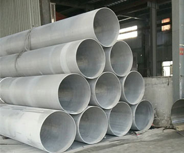 Big 316L Stainless Steel Round Tube