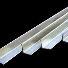 300 Series bright stainless steel angle bar